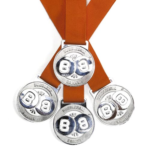 bubbleball baller medal